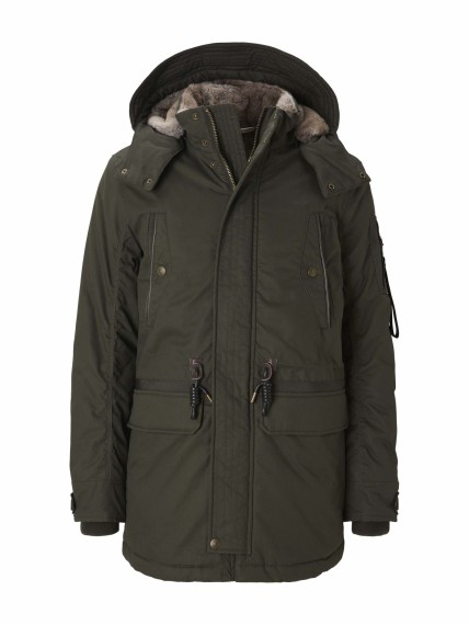 Tom Tailor padded parka with fu
